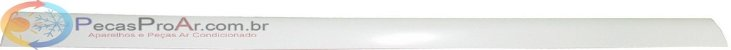 Direcionador De Ar Horizontal Superior Split Midea Estilo 42MTCB09M5 - Imagem 1