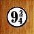 Placa Decorativa - 9 3/4 - Imagem 1