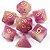 Conjunto de Dados para RPG - Fluorescente - Rosa - Imagem 1