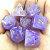 Conjunto de Dados para RPG - Pedra - Lilás - Imagem 1