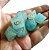 Conjunto de Dados para RPG - Pedra - Azul Claro - Imagem 1