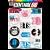 Cartela Individuals Musica BTS M1 - P5 Adesivos Stickers - Imagem 1
