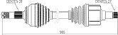 Semieixo Mitsubishi Asx 2.0 Outlander 2.0 Diant Ld Direito - Imagem 3