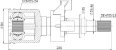 Tulipa + Trizeta Jac Motors J6 2.0 16v Lado Direito 25x24 D - Imagem 5