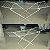 Varal de chão com abas dobravél  - Imagem 3
