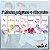 KIT Marca Páginas BTS aquarela + Chaveiro - Imagem 1
