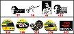 Adesivos Ayrton Senna - F1 - Imagem 1