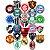 Adesivos Times De Futebol - Nacional E Internacional - Imagem 1