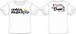 Camiseta Família Apzeiros Branca Personalizada com seu NOME e CARRO - Imagem 3