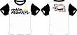 Camiseta Família Apzeiros Branca/Preta Personalizada com seu NOME e CARRO - Imagem 3