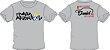Camiseta Família Apzeiros Cinza Personalizada com seu NOME e CARRO - Imagem 3
