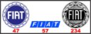 Adesivos Fiat - Vintage Retrô - Imagem 1