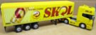 Scania R730 SKOL - Escala 1/64 + Carreta (Escala 1/68) = 25 CM - Imagem 2
