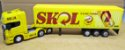 Scania R730 SKOL - Escala 1/64 + Carreta (Escala 1/68) = 25 CM - Imagem 1