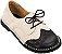 Sapato Infantil Pique-Nique Noir/ Creme - Imagem 1