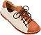 Sapato Infantil Pipa Terra/ Creme - Imagem 1