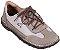 Sapato Infantil Botão Gris/ Névoa - Imagem 1