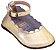 Sapato Boneca Dourado - Imagem 1