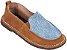 Sapato Infantil Skate Melado/Jeans - Imagem 1