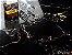 Porcelanato Portilato Mármore Esmaltado Vitrificado Super Gloss Nero Portoro (80×80) - Imagem 3