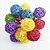 Cordão Led 20 Bolinha Rattan vime Colorido PIlha ou USB - Imagem 1