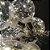 Varal Led 6 Lâmpadas grandes Retro  Fio de fada Arame Bivolt - Imagem 3