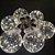 Varal Led 6 Lâmpadas grandes Retro  Fio de fada Arame Bivolt - Imagem 2