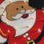 Painel Papai Noel Iluminado Enfeite Led Natal - Imagem 2
