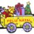 Enfeite Natal Luminoso Papai Noel no trem Painel led Natal - Imagem 5