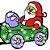 Enfeite Natal Luminoso Papai Noel no trem Painel led Natal - Imagem 4