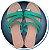 Rasteirinha Tiras Verdes - Imagem 1