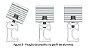 Suporte 02 painéis em alumínio anodizado ajuste de inclinação - Imagem 5
