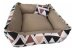 Cama Cachorro e Gato Pet Lavavel C/ Ziper Colors 60X60 + Brindes - Imagem 3