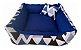 Cama Cachorro e Gato Pet Lavavel C/ Ziper Colors 60X60 + Brindes - Imagem 1