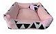 Cama Cachorro e Gato Pet Lavavel C/ Ziper Colors 60X60 + Brindes - Imagem 5