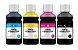 4 Frascos de 250ML de Tinta Comestível Para Papel Arroz Epson - Imagem 1