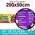 Placa Laminada - Menu para vender Açaí no copo com complementos - Tamanho 200x50cm - Imagem 3