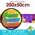 Placa Laminada - Menu para vender Açaí no copo com complementos - Tamanho 200x50cm - Imagem 2