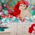 Kit Enfeite Impresso em EVA - Disney Princesa - Ariel -01 unidade - Piffer-  Rizzo Embalagens - Imagem 4