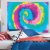 Painel Grande TNT Tie Dye -1,40x1,03cm - Piffer - Rizzo Embalagens - Imagem 2