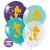 """Balão de Festa Redondo Profissional Látex Decorado 11"""" 28cm - Sereia - 25 Unidades - Art-Latex - Rizzo Embalagens - Imagem 1"""