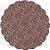 Fundo Rendado Redondo Marrom - 100 unidades - Cromus - Rizzo - Imagem 1