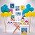 Kit Festa Fácil Festa Baby Shark Grande - 58pçs - 01 Unidade - Cromus - Rizzo Embalagens - Imagem 1