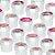 Potinho Acrílico Redondo Tampa Rosqueável Festa Barbie - 80ml - 4,8cm x 5cm - 20 unidades - Rizzo Embalagens - Imagem 2