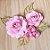 Decoração para Bolo em Papel - Folha e Flor G - Dourado/Rosa - 01 unidade – MaxiFormas - Rizzo Embalagens - Imagem 2