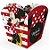 Cachepot Papel Festa Minnie Mouse 4 Unidades Regina Rizzo Embalagens - Imagem 2