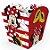 Cachepot Papel Festa Minnie Mouse 4 Unidades Regina Rizzo Embalagens - Imagem 3