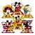 Decoração de Mesa Festa Mickey Mouse 06 Unidades Regina Rizzo Embalagens - Imagem 1