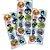 Adesivo Redondo para Lembrancinha Festa Dragon Ball - 30 unidades - Festcolor - Rizzo Festas - Imagem 1