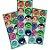 Adesivo Redondo para Lembrancinha Festa Jovens Titãs - 30 unidades - Festcolor - Rizzo Festas - Imagem 1
